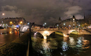 Pont Saint-Michel Paris