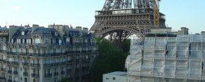 Hotel Construction Eiffel Tower