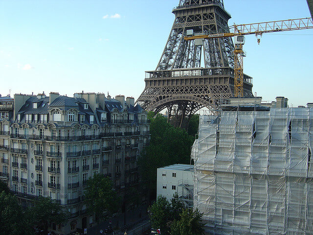 Hotel Construction Eiffel Tower
